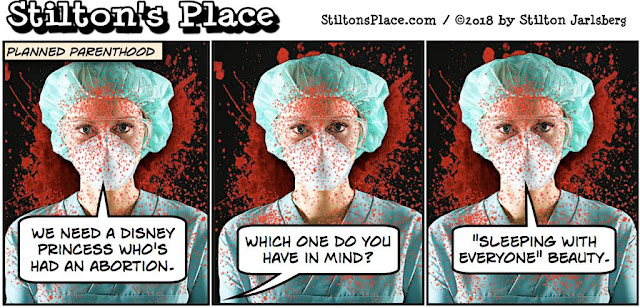 stilton's place, stilton, political, humor, conservative, cartoons, jokes, hope n' change, planned parenthood, abortion, disney, princess