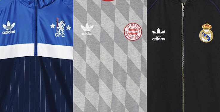 Mal humor Endurecer Minúsculo  Adidas Originals Bayern, Chelsea, Juventus, Milan and Real Madrid  Collection Revealed - Footy Headlines