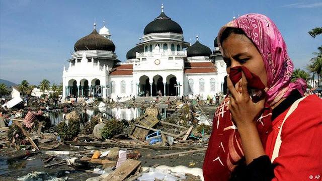 Bacaan Doa Ketika Terjadi Gempa Bumi atau Bencana Alam