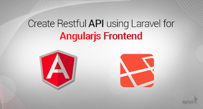 Blog post for Laravel and AngularJS development