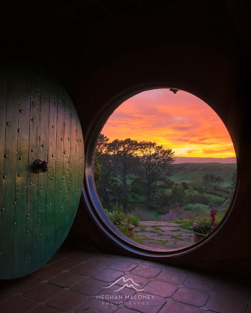 Amazing skies Bag End, Hobbiton