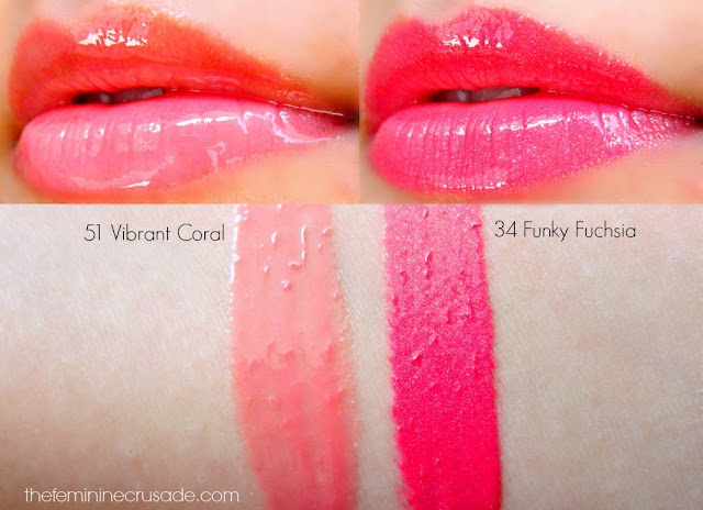 Sephora Ultra Shine Lip Glosses - swatches