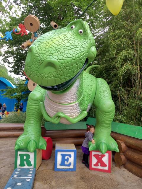 El gran Rex con Helia