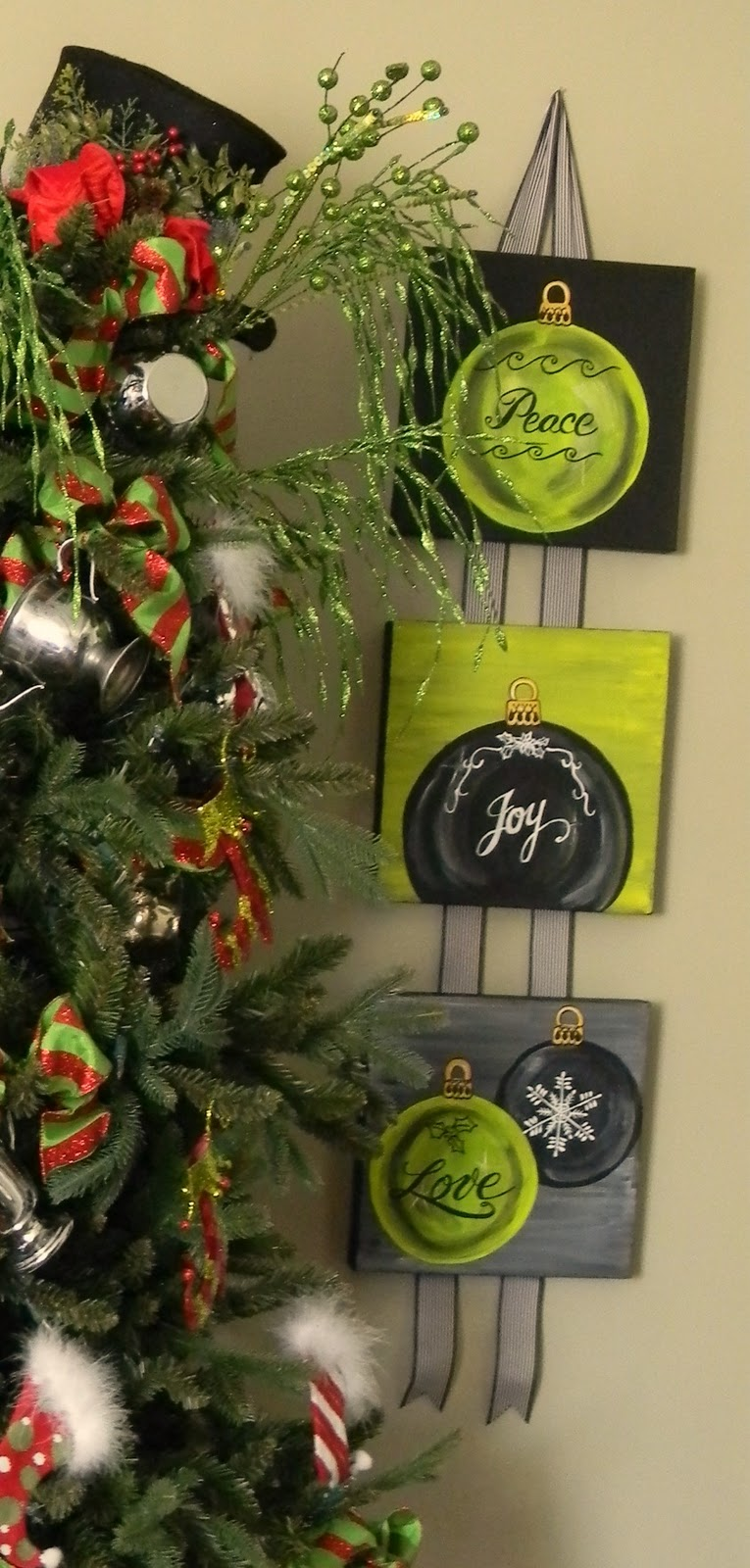 Christmas Canvas Pictures