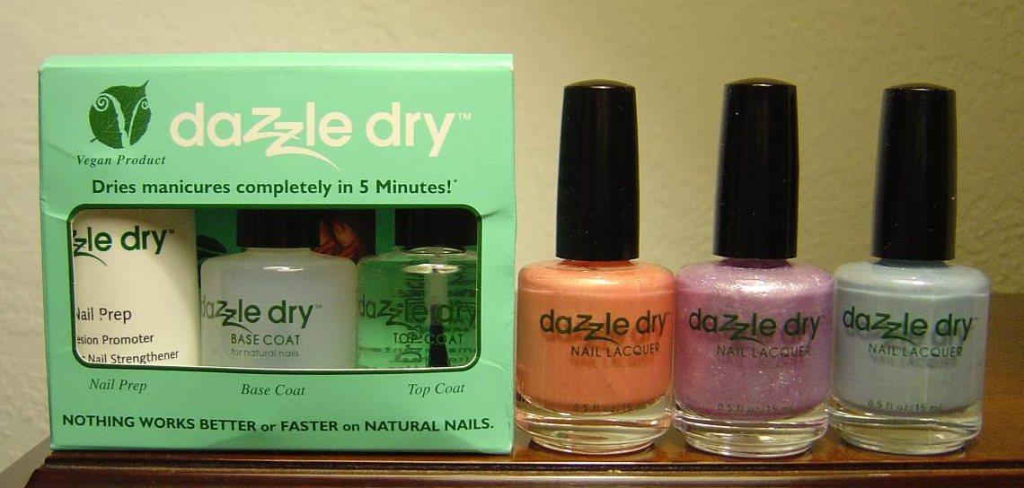 Dazzle Dry Nail Polish Kit and Color Nail Polish.jpeg