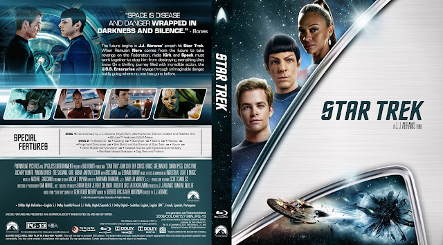 Capa Bluray Star Trek