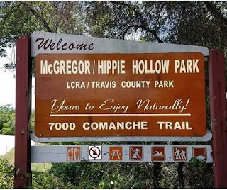 Austin swimming holes hippie hollow
