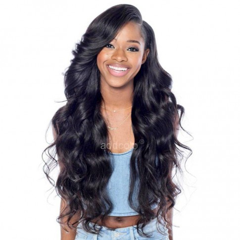 Lace Front Wigs Brazilian Hair Natural Wave Wig Natural Color –Price:$170.74
