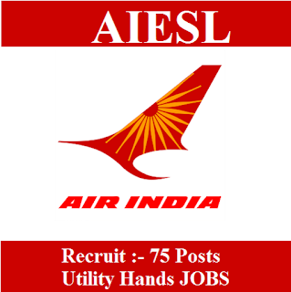 Air India Engineering Service Limited, AIESL, Air India Limited, West Bengal, WB, freejobalert, Sarkari Naukri, Latest Jobs, 10th, Driver, aiesl logo