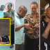 Photos: Fan Who Accused Chris Brown Of Smashing Her Phone On The Ground Takes A Selfie With Wizkid With The Same Phone