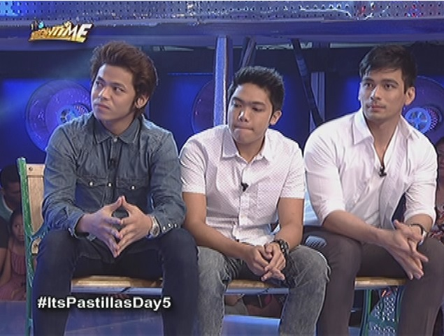 Topher, Jessy and Evan tried their luck to win heart of 'Ms. Pastillas'