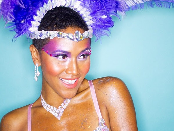 My Caribana/Carnival Makeup Tutorial by Shameless Maya