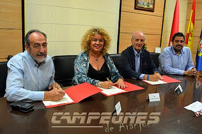 Ayuntamiento Aranjuez Federación Fútbol Baloncesto