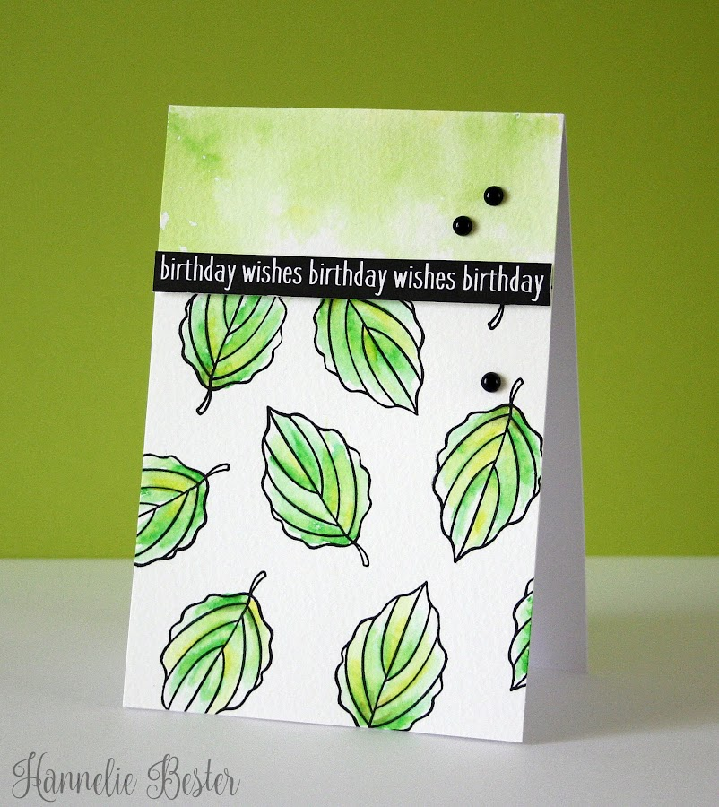 Spring birthday wishes card