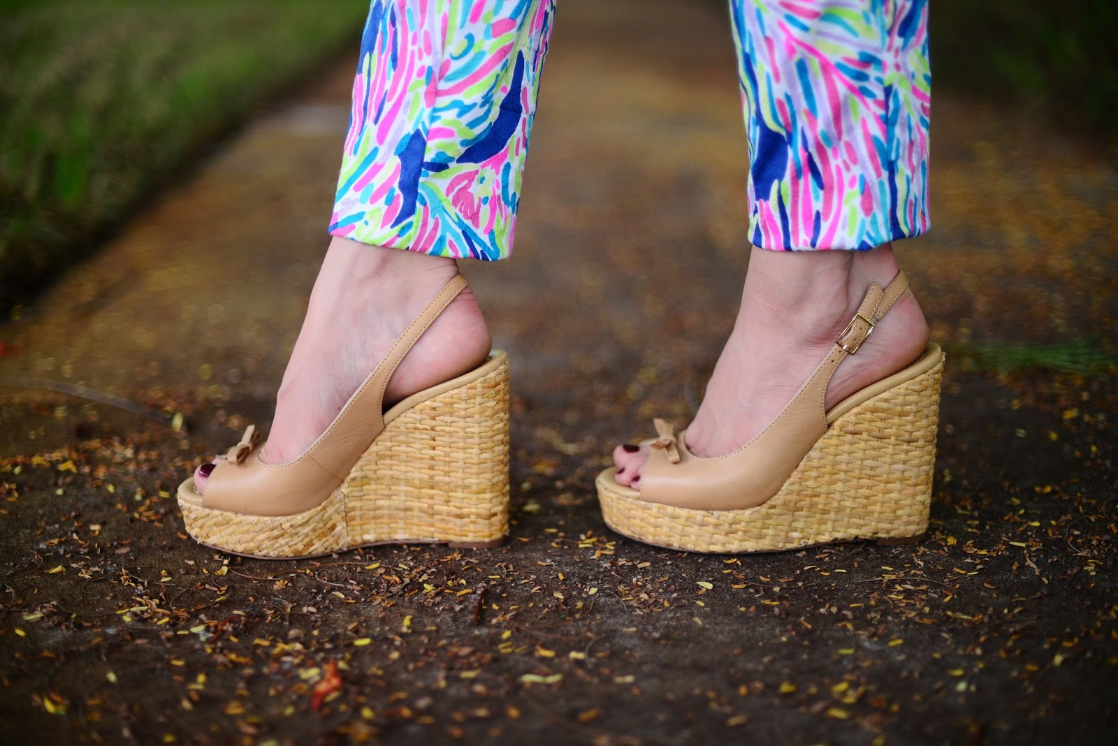 The Neapolitan, Naples, Crop top, printed pants, Lilly Pulitzer, summer