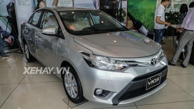 Cận cảnh Toyota Vios 1.5E CVT (Vios K) mới ra mắt Việt Nam