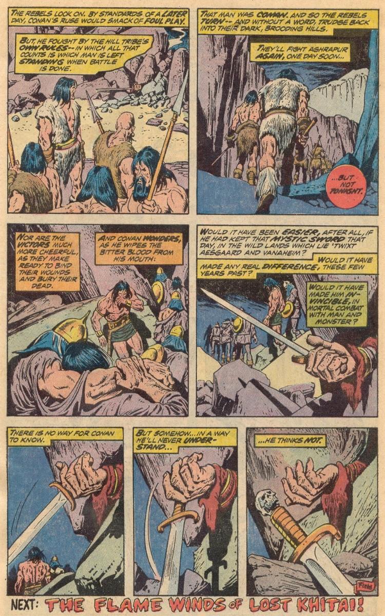 Conan the Barbarian (1970) 31 Page 19