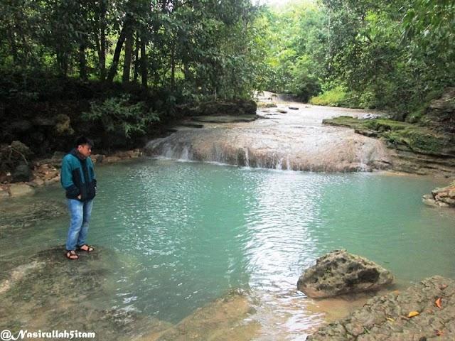 Air terjun Lepo, Sungai Tengah Hutan yang Memukau