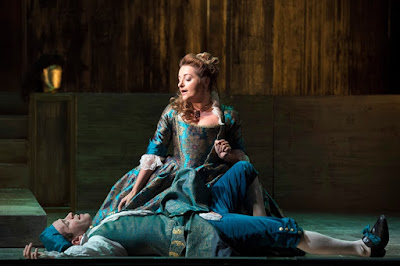 English Touring Opera - Handel: Giulio Cesare - Soraya Mafi, Benjamin Williamson - (Photo Richard Hubert Smith)