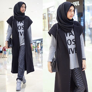 fashion hijab simple anak muda