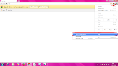 Cara Update Google Chrome