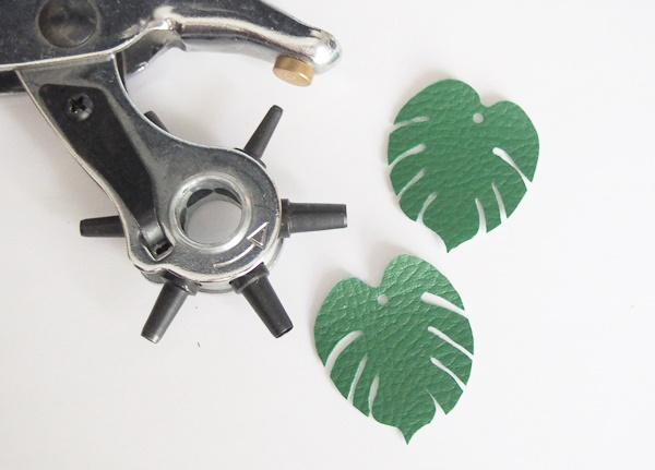 DIY : boucles d'oreilles tropicales
