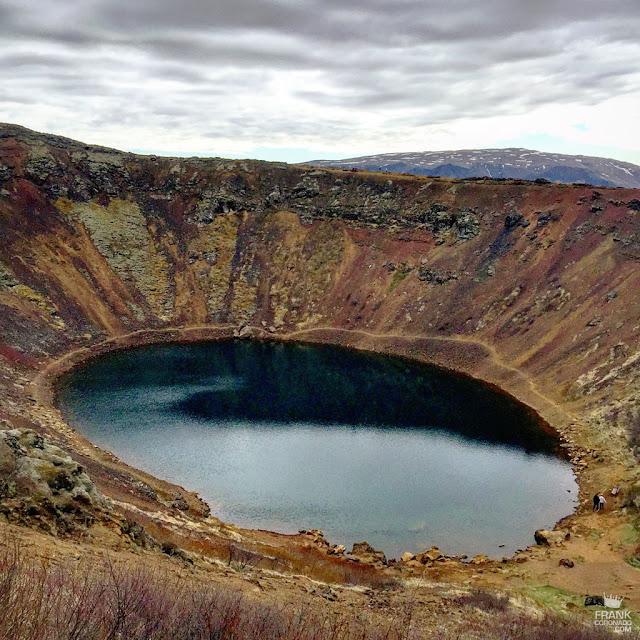 lago cráter kerid Islandia