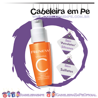 Vitamina C Renew Super Concentrado Antioxidante - Avon (Sem Sulfatos, Sem Petrolatos e Sem Silicones)