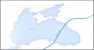 """Нафтогаз хочет отсудить пакет акций Газпрома в """"Голубом потоке"""