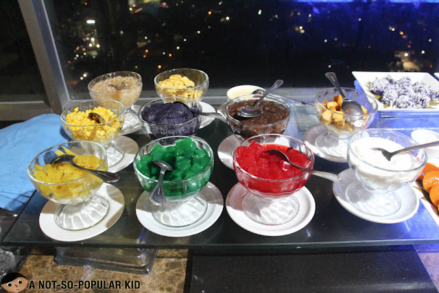 Halo Halo Ingredients - Cebu Sparkz Restobar