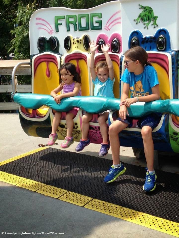 Hersheypark Amusement Park in Hershey Pennsylvania