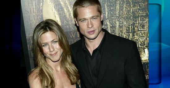 15 fãs que se casaram com seus ídolos - Jennifer Aniston e Brad Pitt