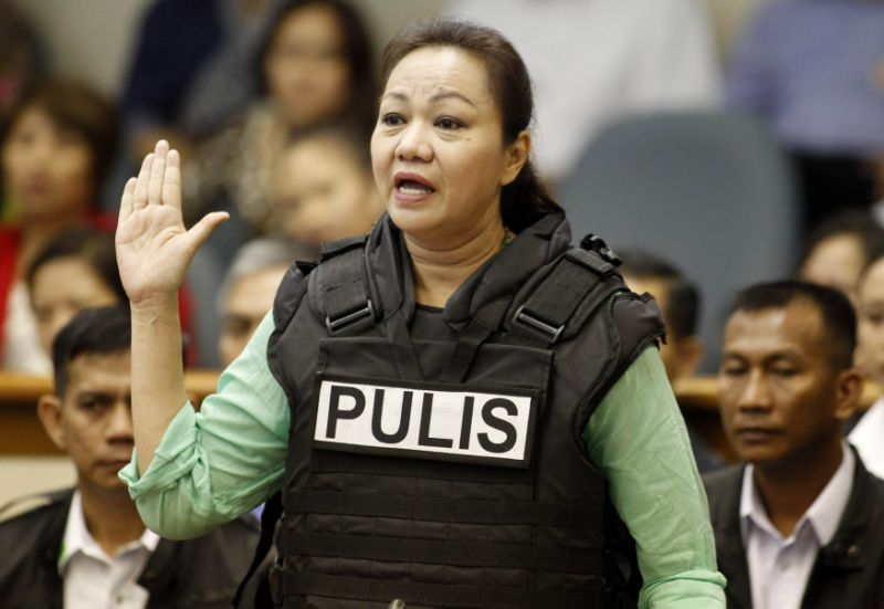 Janet Napoles acquitted by CA on Benhur Luy detention case