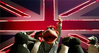 A Scene from Disney's Muppets Most Wanted