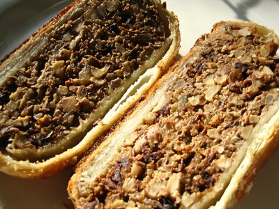 Mushroom Nut Roast In Puff Pastry Lisa S Kitchen