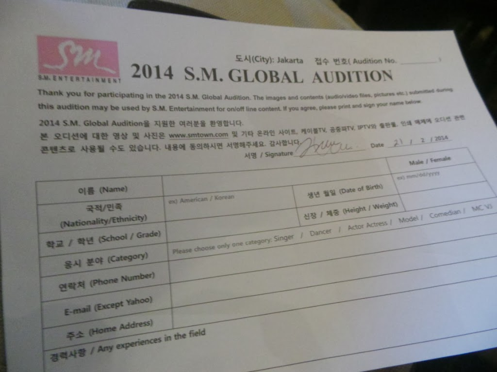 Oh    Jadi Begini SM Global Audition    ? [PART 1