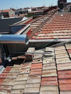 foto instalación de tubo EI30 300-350