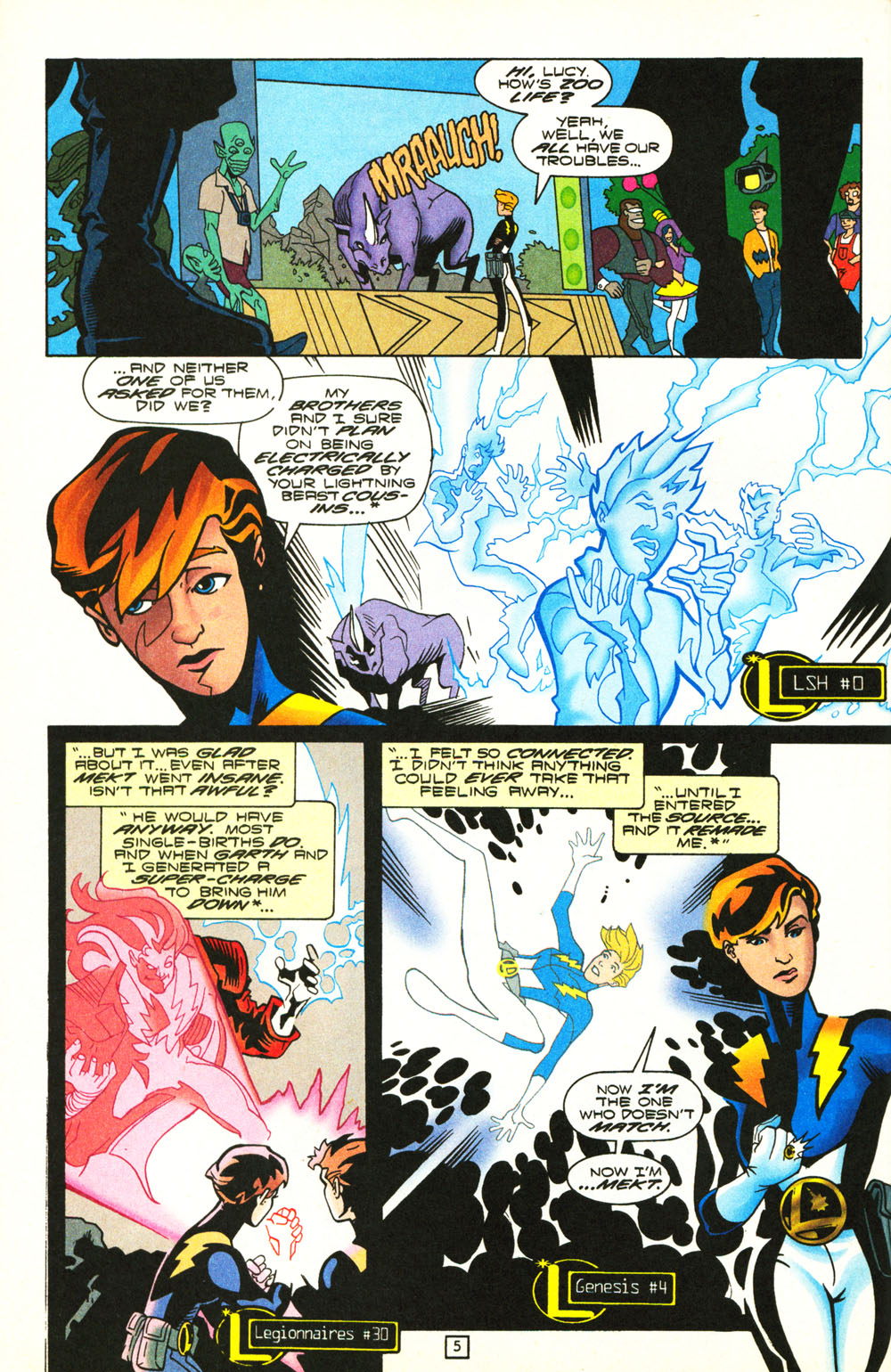 Legion of Super-Heroes (1989) 101 Page 5