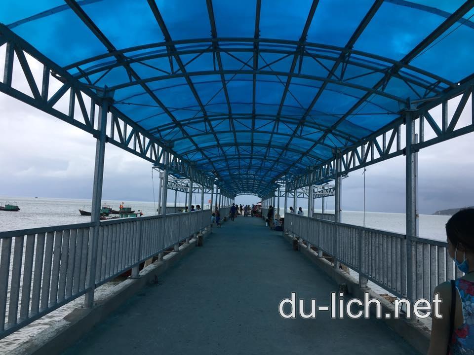 Hình ảnh cầu cảng Cô Tô