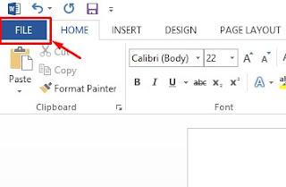 Microsoft-word-toolbar