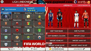 Download FTS Mod All Country + League 1 by Mr O