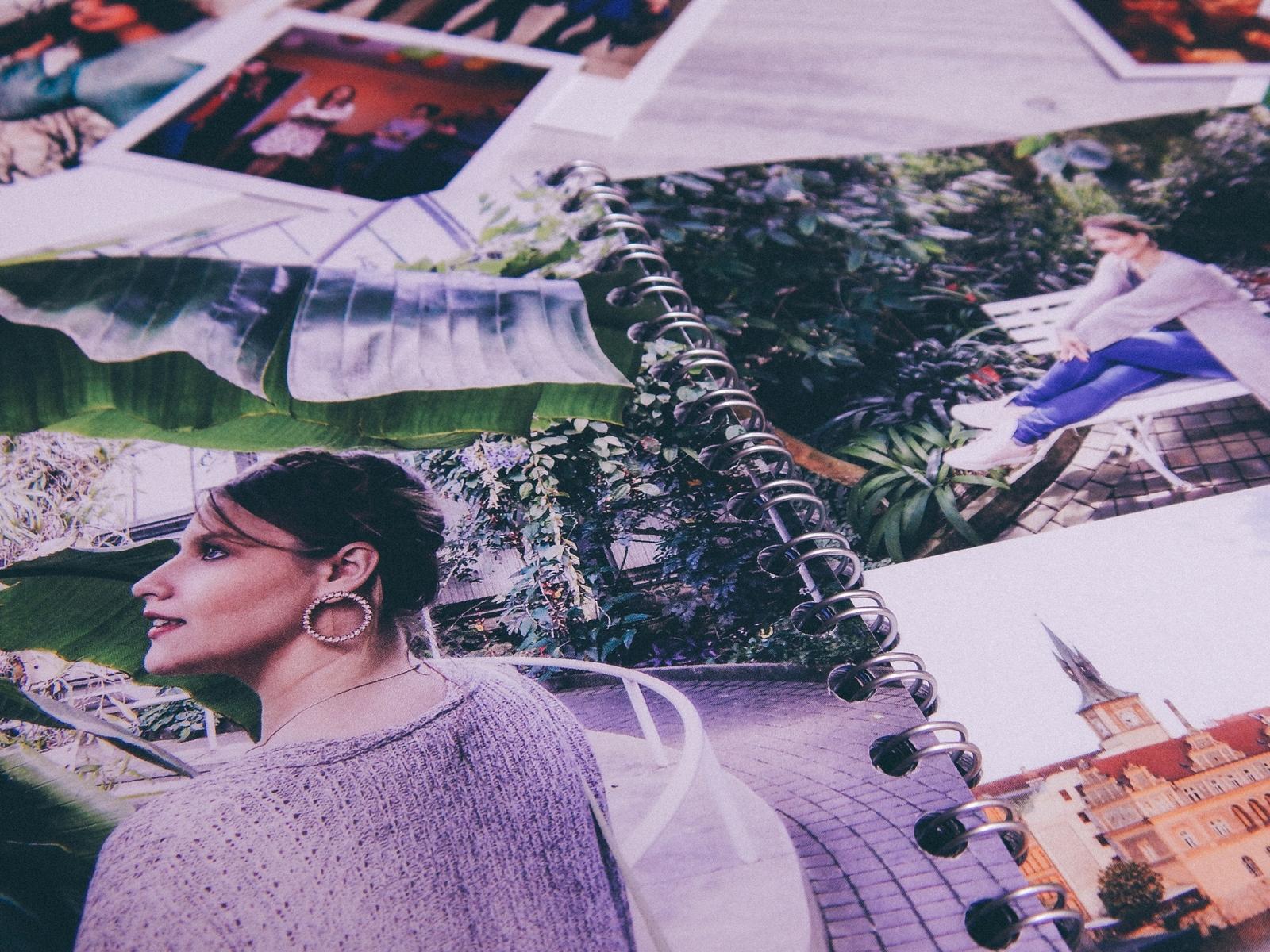 7 fotozeszyt saal digital zeszyt na zdjęcia a5 na sprężynie fotoksiązka photobook recenzja test fotozeszytu tanie wywoływanie zdjęć online melodylaniella polaroidy