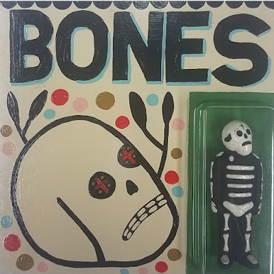 Bones Resin Figure & Painting Set by Mike Egan x Killer Bootlegs
