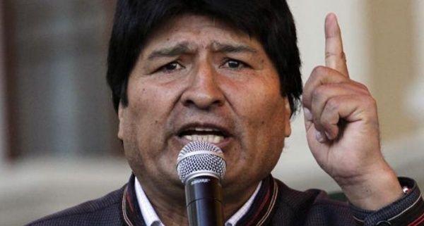 Evo Morales condena conspiración de la OEA contra Venezuela