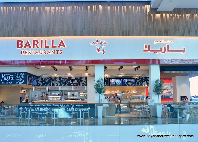 Barilla restaurant in DFC