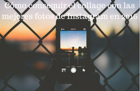 Redes Sociales, Social Media, Instagram, Fotografías, Collages, 2016,