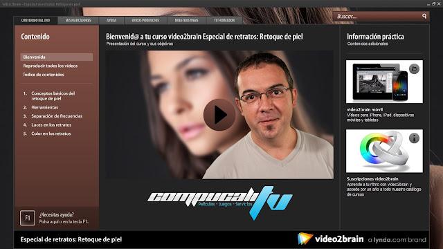 Curso Video2Brain: Especial de retratos: Retoque de Piel