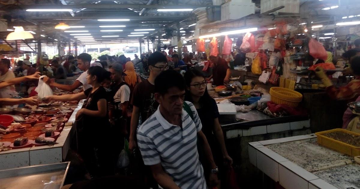 alialisakreatif by kolin zainal: Beli ikan, ayam daging di Pasar Chow Kit