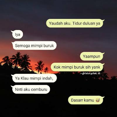cara ngeprank pacar lewat chat
