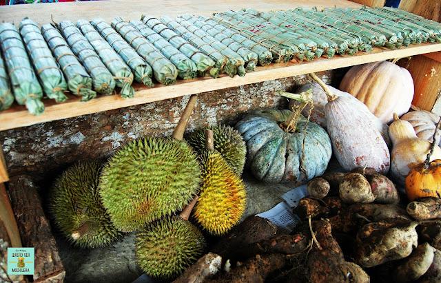 Food Festival en Bario (Kelabit Highlands), Borneo (Malasia)